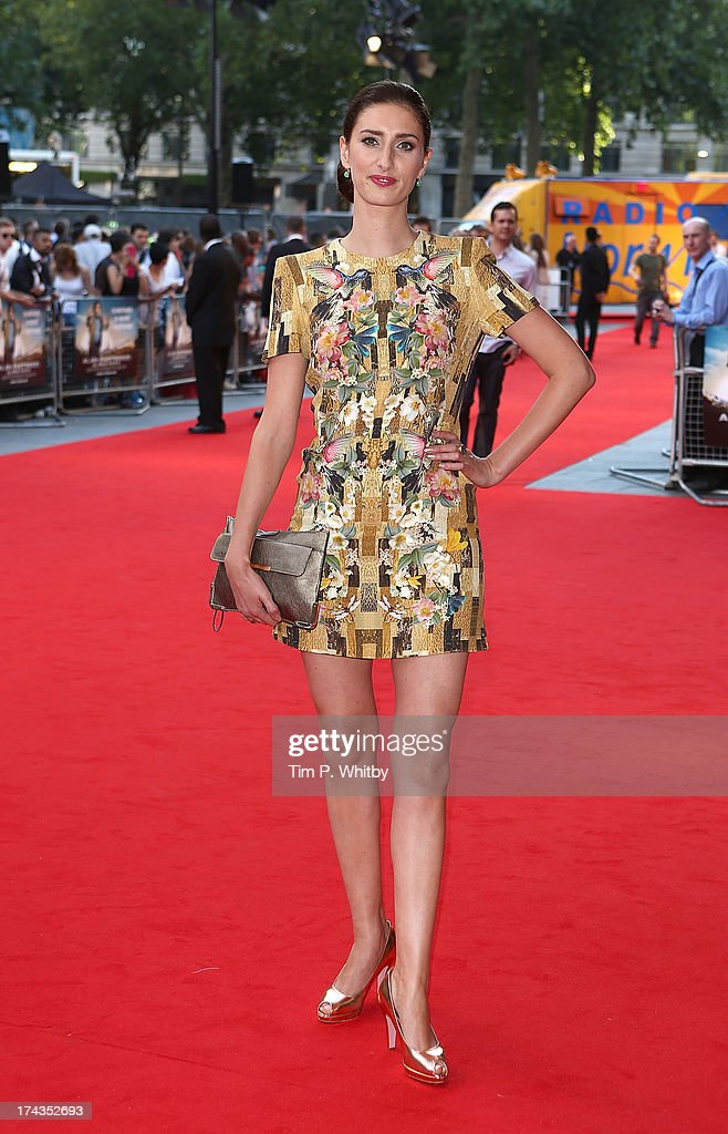 Jessica Knappett attends the 'Alan Partridge: Alpha Papa' World Premiere Day at Vue Leicester Square on July 24, 2013 in London, England.