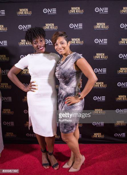 Jessica Lane TV One Director Digital amp Social Media Marketing and Creative Services and Lori Hall TV One SVP Consumer Marketing Marketing and...