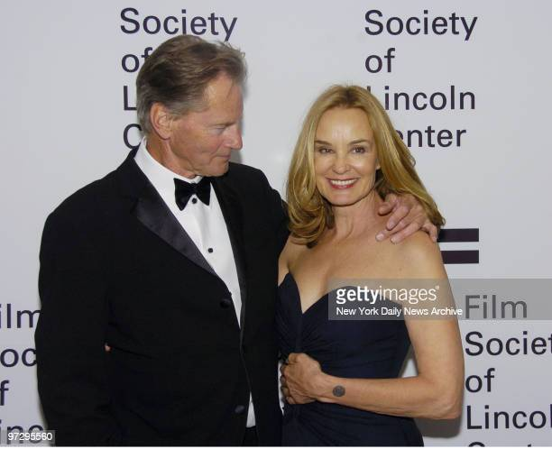 Jessica Lange and Sam Shepard are at Avery Fisher Hall where she was honored by the Film Society of Lincoln Center