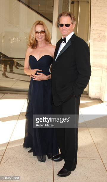Jessica Lange and Sam Shepard during Jessica Lange Honored by the Film Society of Lincoln Center April 17 2006 at Avery Fisher Hall in New York City...