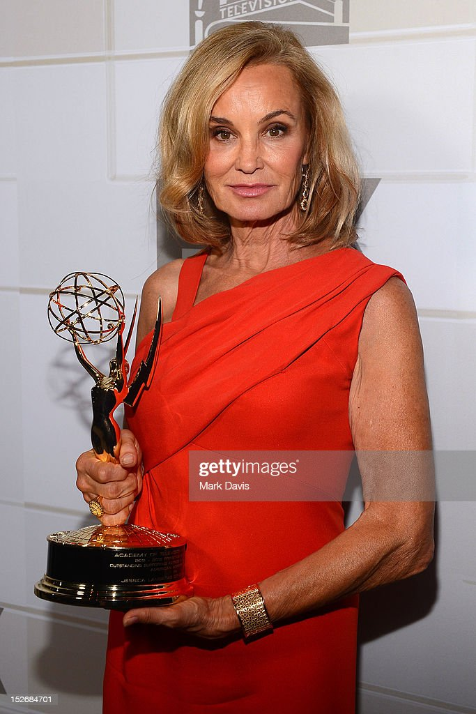 Jessica Lange arrives at FOX Broadcasting Company, Twentieth Century FOX Television and FX post Emmy party at Soleto on September 23, 2012 in Los Angeles, California.