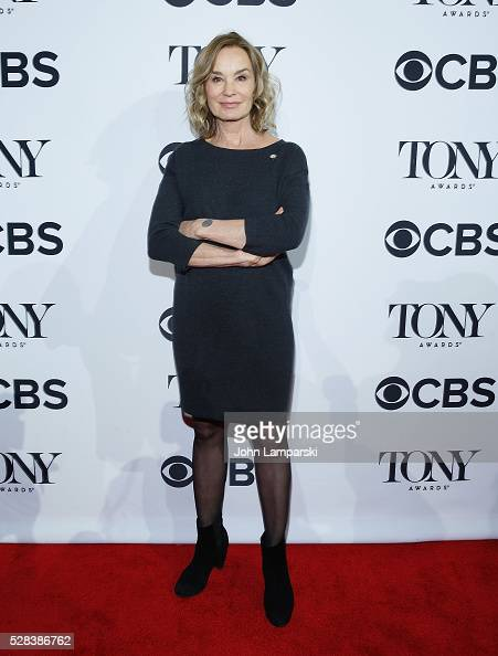 Jessica Lange attends 2016 Tony Awards Meet The Nominees Press Junket at Diamond Horseshoe at the Paramount Hotel on May 4 2016 in New York City