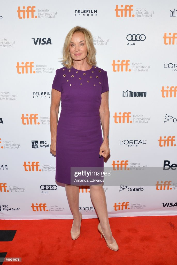 <a gi-track='captionPersonalityLinkClicked' href=/galleries/search?phrase=Jessica+Lange&family=editorial&specificpeople=203310 ng-click='$event.stopPropagation()'>Jessica Lange</a> attends the 'Therese' premiere during the 2013 Toronto International Film Festival at Isabel Bader Theatre on September 7, 2013 in Toronto, Canada.