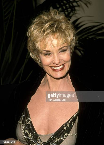 Jessica Lange during AFI Lifetime Achievement Award Honoring Dustin Hoffman at Beverly Hilton Hotel in Beverly Hills California United States