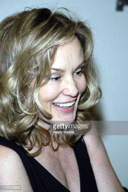 Jessica Lange during National Arts Club Celebration for The Stella by Starlight Gala at The Pierre Hotel in New York United States