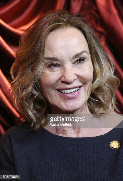 Jessica Lange during the 2016 Tony Awards Meet The Nominees Press Reception at the Paramount Hotel on May 4 2016 in New York City