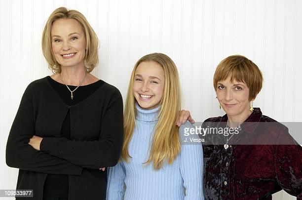 Jessica Lange Hayden Panettiere and Jane Anderson writer/director