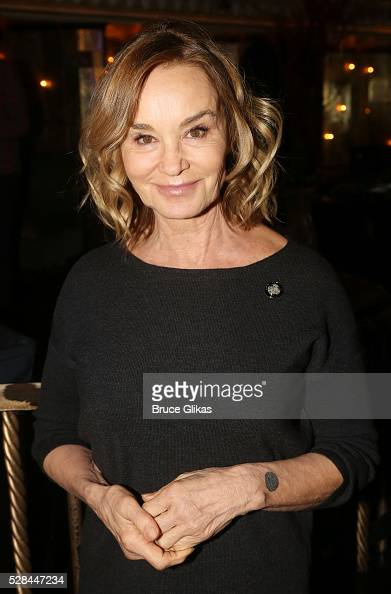 Jessica Lange poses at The 70th Annual Tony Awards Meet The Nominees Press Junket at The Diamond Horseshoe at the Paramount Hotel on May 4 2016 in...