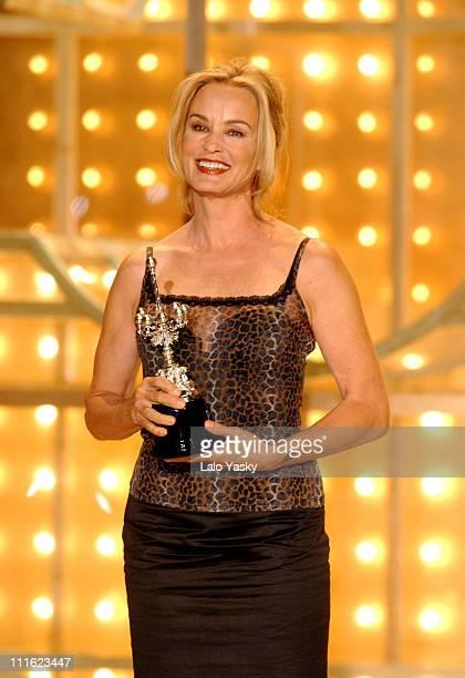 Jessica Lange receives the Donostia Award during the 50th San Sebastian Film Festival