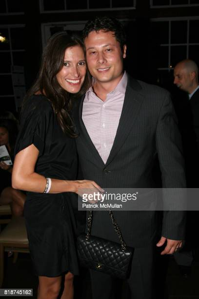Jessica Leitner and Justin Leitner attend The SKIN CANCER FOUNDATION's A Night Stars Shine On at The Boathouse on June 29th 2010 in New York City