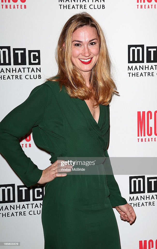Jessica Love attends the Broadway Opening Night After Party for 'The Snow Geese'' at Copacabana on October 24, 2013 in New York City.
