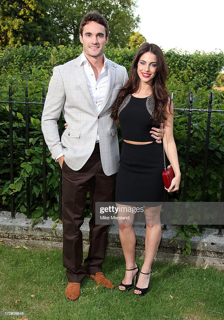 <a gi-track='captionPersonalityLinkClicked' href=/galleries/search?phrase=Jessica+Lowndes&family=editorial&specificpeople=3960270 ng-click='$event.stopPropagation()'>Jessica Lowndes</a> and <a gi-track='captionPersonalityLinkClicked' href=/galleries/search?phrase=Thom+Evans&family=editorial&specificpeople=825883 ng-click='$event.stopPropagation()'>Thom Evans</a> attend the launch party for the Fashion Rules exhibition, a collection of dresses worn by HRH Queen Elizabeth II, Princess Margaret and Diana, Princess of Wales at Kensington Palace on July 4, 2013 in London, England.
