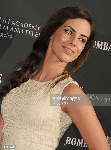Jessica Lowndes arrives at the 17th Annual BAFTA Los Angeles Awards Season Tea Party at the Four Seasons Hotel on January 15 2011 in Los Angeles...