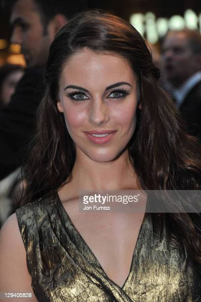 Jessica Lowndes arrives for the UK Premiere of 'Pirates Of The Caribbean On Stranger Tides' at Vue Westfield on May 12 2011 in London England
