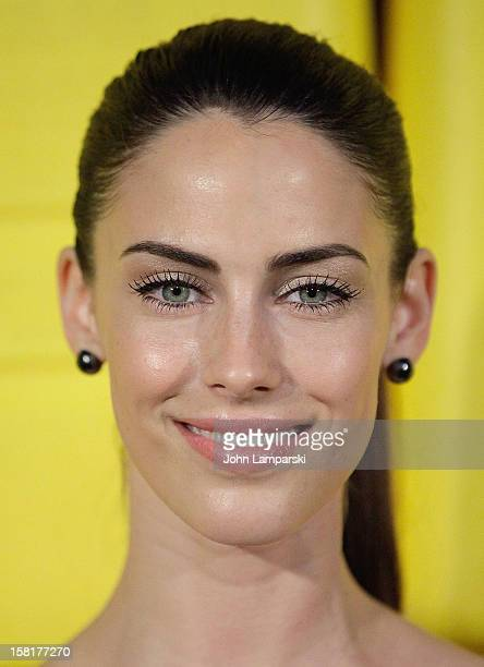 Jessica Lowndes attends 7th Annual Charity Ball benefiting CharityWater at the 69th Regiment Armory on December 10 2012 in New York City