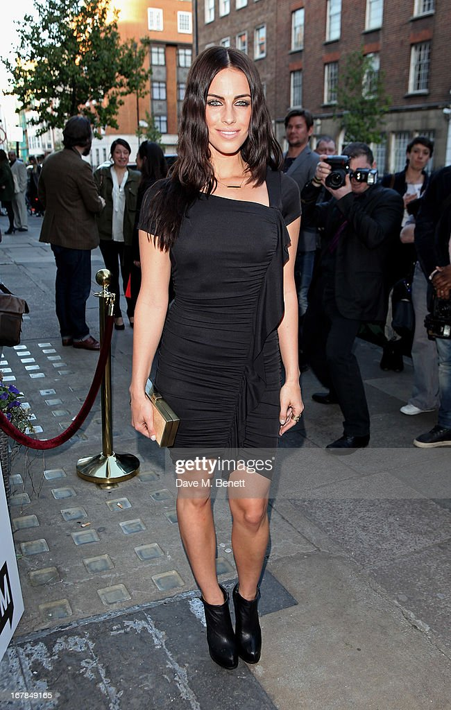 Jessica Lowndes attends a private view of 'Human Relations' featuring the photographs of Fenton Bailey and Mairi-Luise Tabbakh, curated by Sascha Bailey, at Imitate Modern on May 1, 2013 in London, England.
