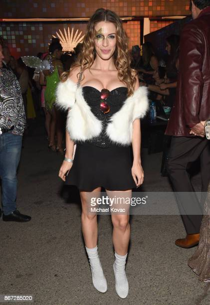 Jessica Lowndes attends Casamigos Halloween Party on October 27 2017 in Los Angeles California