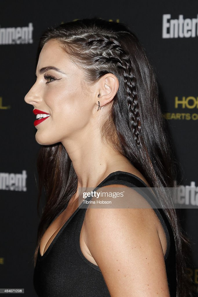 Jessica Lowndes attends Entertainment Weekly's Pre-Emmy party at Fig & Olive Melrose Place on August 23, 2014 in West Hollywood, California.