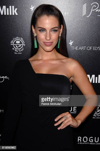 Jessica Lowndes attends THE ART OF ELYSIUM SECOND ANNUAL GENESIS EVENT SPONSORED BY ROGUE PICTURES PAIGE DENIM COFFEE BEAN TEA LEAF AND MILK STUDIOS...