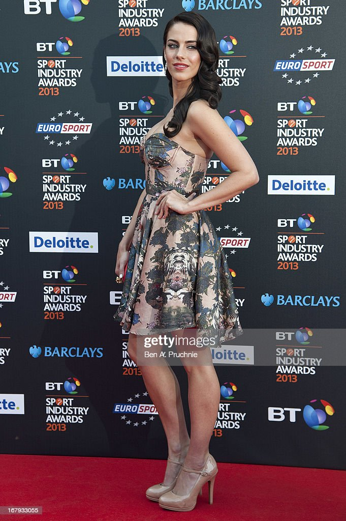 Jessica Lowndes attends the BT Sports Industry awards at Battersea Evolution on May 2, 2013 in London, England.