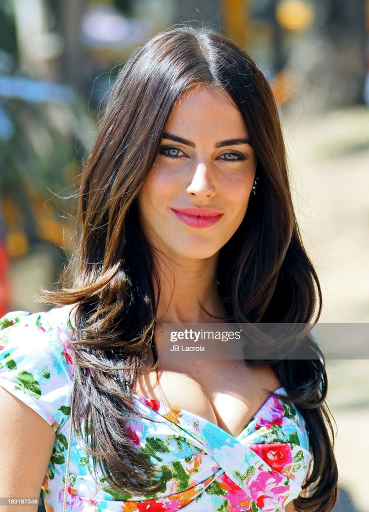 Jessica Lowndes attends The Fourth-Annual Veuve Clicquot Polo Classic at Will Rogers State Historic Park on October 5, 2013 in Pacific Palisades, California.