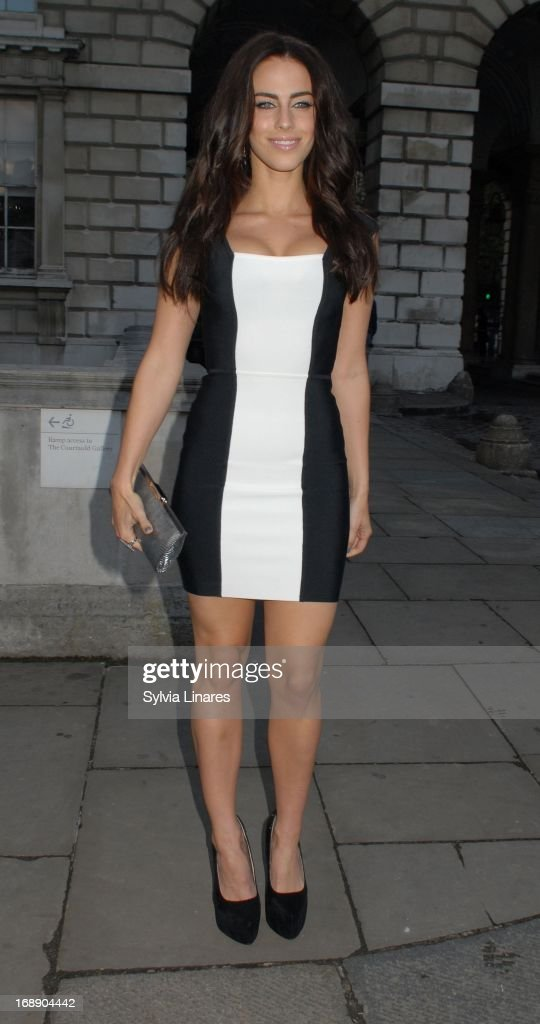 Jessica Lowndes leaving Somerset House on May 16, 2013 in London, England.