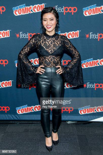 Jessica Lu attends the Reverie press room during 2017 New York Comic Con Day 3 on October 7 2017 in New York City