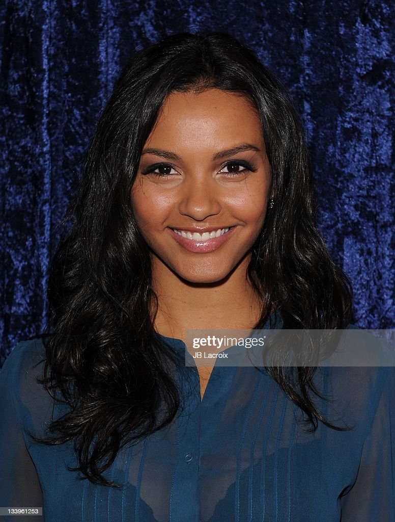 Jessica Lucas arrives to Paramount Pictures' 'Super 8' Blu-ray and DVD release party at AMPAS Samuel Goldwyn Theater on November 22, 2011 in Beverly Hills, California.