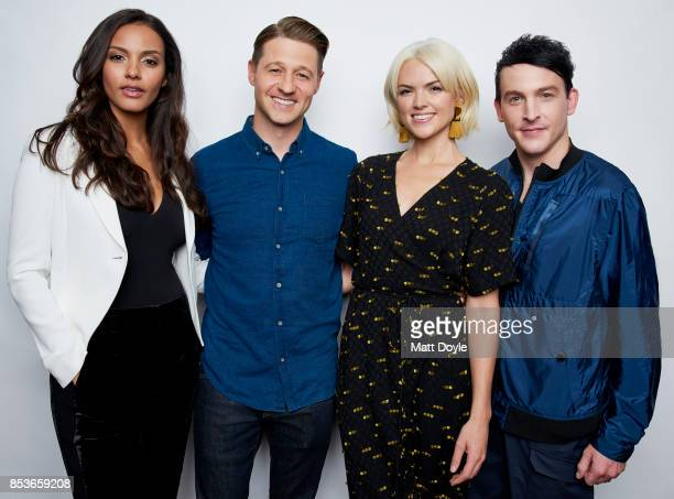 Erin Richards Robin Lord Taylor Jessica Lucas and Ben McKenzie of FOX's 'Gotham' pose for a portrait at the Tribeca TV festival at Cinepolis Chelsea...