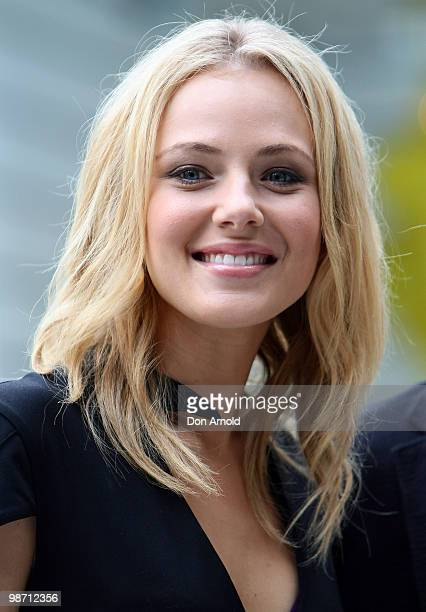 Jessica Marais poses during the nominations announcement for the 52nd TV Week Logie Awards at The Ivy on March 29 2010 in Sydney Australia