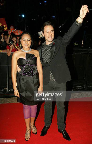Jessica Mauboy and Damien LeithAustralian Idol Finalists