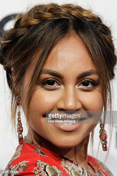 Jessica Mauboy arrives at the 2015 Women of Style Awards at Carriageworks on May 13 2015 in Sydney Australia