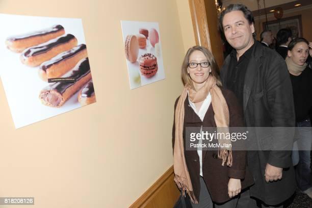 Jessica McIlvaine and Christopher Kanopka attend La Nuit du Gateau at La Maison du Chocolat at La Maison du Chocolat on November 3 2010 in New York...