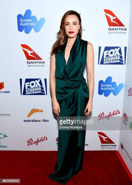 Jessica McNamee attends the 6th Annual Australians in Film Award Benefit Dinner at NeueHouse Hollywood on October 18 2017 in Los Angeles California