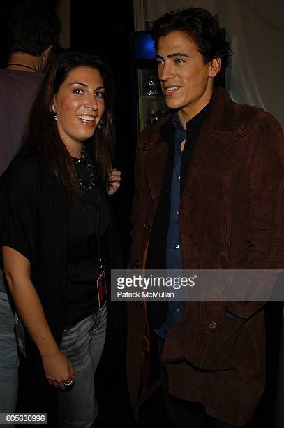 Jessica Meisels and Andrew Keegan attend Oakley Womens Fall 06 Fashion Show at Atelier The Tents at Bryant Park on February 4 2006 in New York
