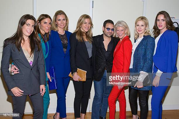 Jessica Meisels Dori Cooperman Inga Rubenstein Dani Stahl designer Alvin Valley RoAnn Costin Kelly Rutherford and Julia Loomis attend Alvin Valley...