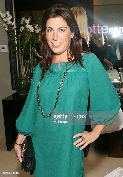 Jessica Meisels during Charlotte Ronson Cocktail Party at Private Home in Hollywood Hills CA United States