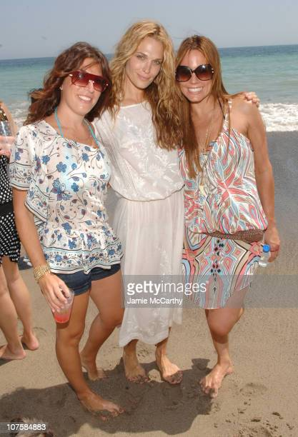 Jessica Meisels Molly Sims and Krista Allen during Self Magazine Fun In The Sun Event Hosted by Self's August Cover Girl Molly Sims at The Polariod...