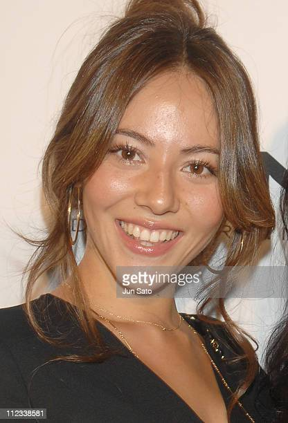 Jessica Michibata during DKNY Spring/Summer 2007 After Party at Kasumigaoka National Stadium in Tokyo Japan