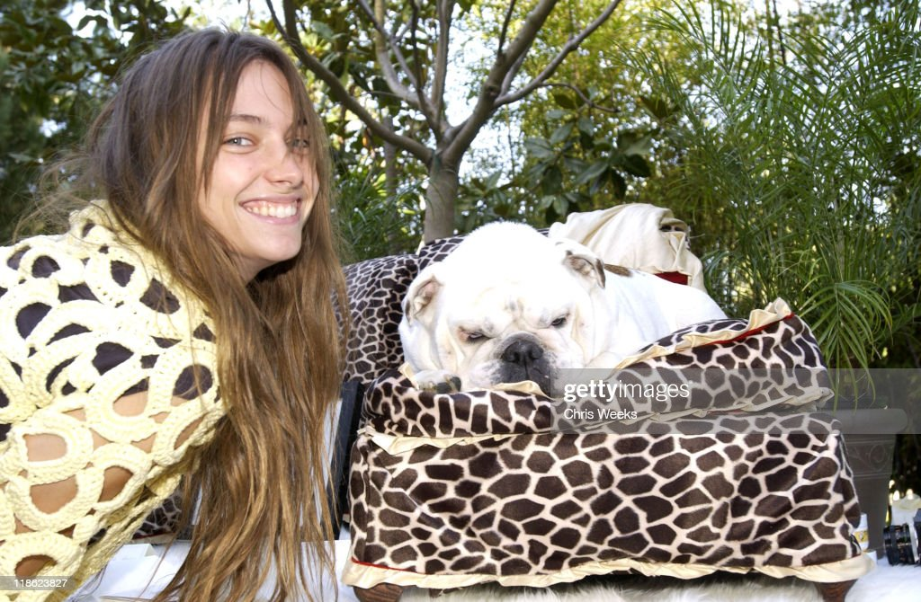 """Jessica Miller at La Petite Maison during 'Silver Spoon Dog and Baby Buffet"""" Benefitting Much Love Animal Rescue Day One at Private Residence in..."""