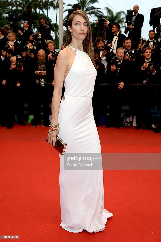 Jessica Miller attends the Premiere of 'Jimmy P ' at Palais des Festivals during The 66th Annual Cannes Film Festival on May 18 2013 in Cannes France