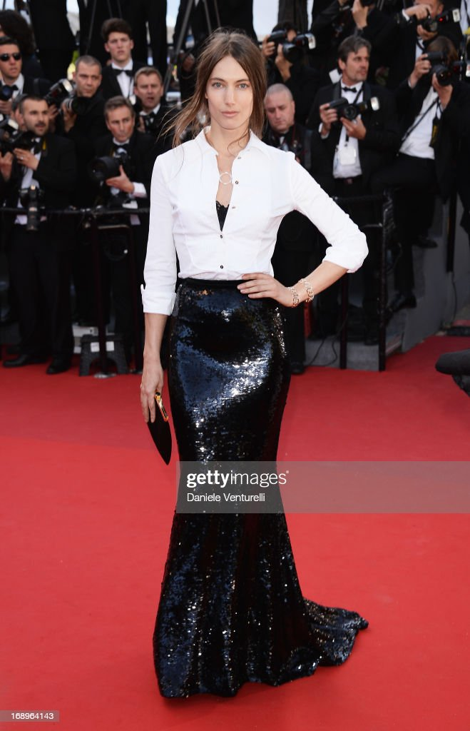 Jessica Miller attends the Premiere of 'Le Passe' (The Past) during The 66th Annual Cannes Film Festival at Palais des Festivals on May 17, 2013 in Cannes, France.