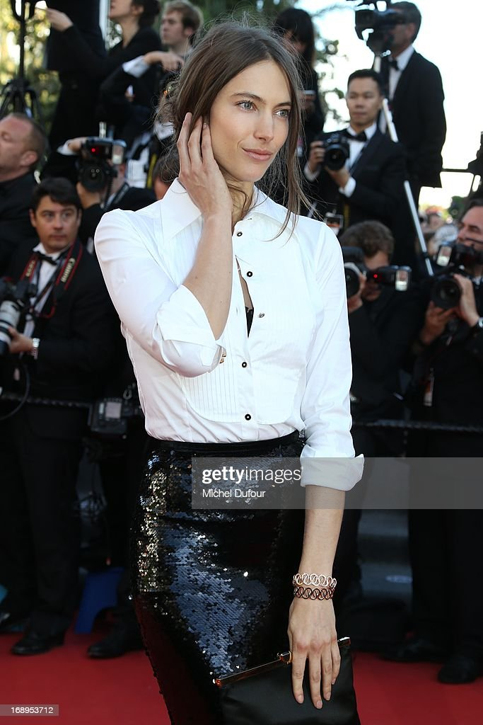 Jessica Muller attends the Premiere of 'Le Passe' (The Past) during The 66th Annual Cannes Film Festival at Palais des Festivals on May 17, 2013 in Cannes, France.