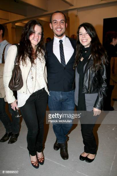 Jessica Muscio Matthew Green and Jenny Ade attend 'The Transformation of ENRIQUE MIRON as El Diablo' by PAUL ROWLAND at 548 W 22nd St on April 29...