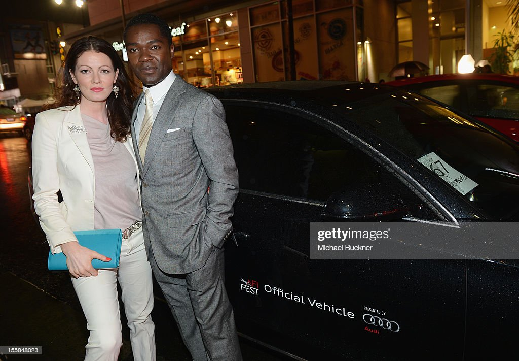 Jessica Oyelowo and actor <a gi-track='captionPersonalityLinkClicked' href=/galleries/search?phrase=David+Oyelowo&family=editorial&specificpeople=633075 ng-click='$event.stopPropagation()'>David Oyelowo</a> arrive at the premiere of 'Lincoln' during the 2012 AFI Fest presented by Audi at Grauman's Chinese Theatre on November 8, 2012 in Hollywood, California.