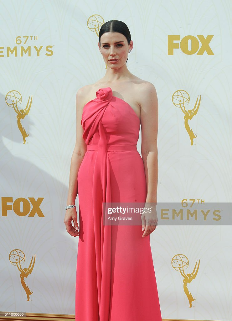 Jessica Pare attends the 67th Annual Primetime Emmy Awards on September 20, 2015 in Los Angeles, California.