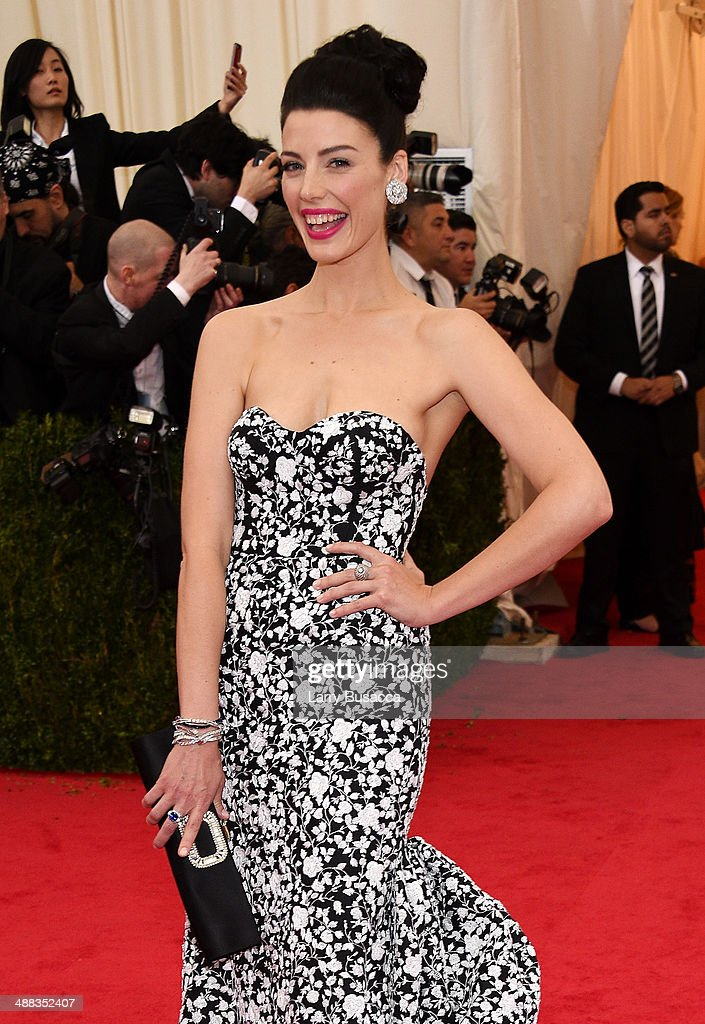 Jessica Pare attends the 'Charles James Beyond Fashion' Costume Institute Gala at the Metropolitan Museum of Art on May 5 2014 in New York City