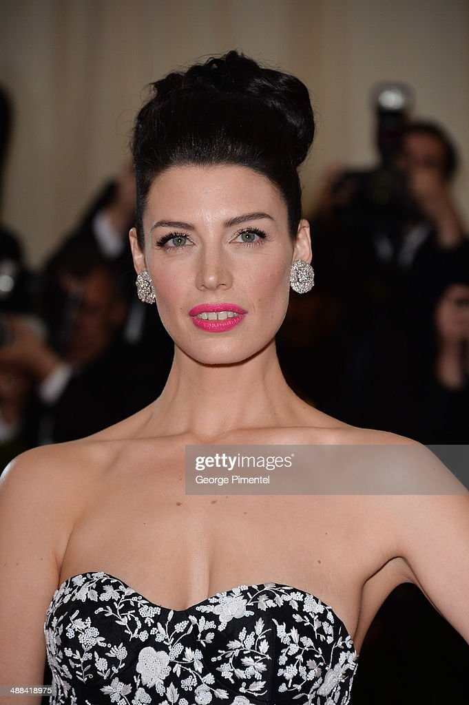 Jessica Pare attends the 'Charles James: Beyond Fashion' Costume Institute Gala at the Metropolitan Museum of Art on May 5, 2014 in New York City.