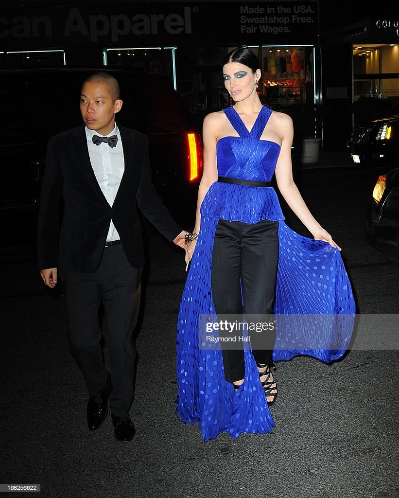 Jessica Pare attends the 'PUNK: Chaos To Couture' Costume Institute Gala after party at The Standard hotel on May 6, 2013 in New York City.