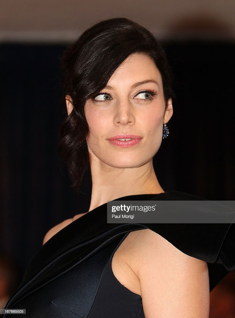 Jessica Pare attends the White House Correspondents' Association Dinner at the Washington Hilton on April 27, 2013 in Washington, DC.